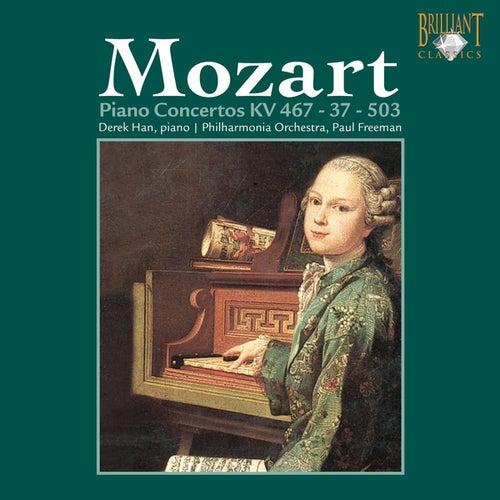 Mozart: Piano Concertos K. 467, 37 & 503 by Philharmonia Orchestra Derek Han