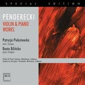 Penderecki: Violin & Piano Works by Patrycja Piekutowska