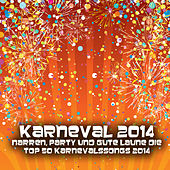 Karneval 2014 - Narren, Party und gute Laune die Top 50 Karnevalssongs 2014 by Various Artists