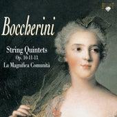 Boccherini: String Quintets, Op. 10, 11 & 13 by Enrico Casazza