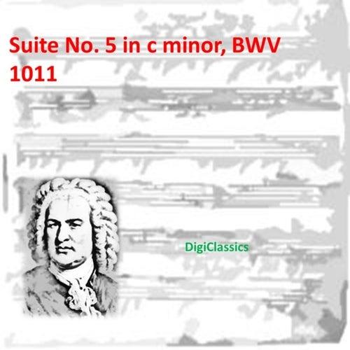 Bach: Suite No. 5 in c minor, BWV 1011 by Johann Sebastian Bach