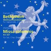 Pantillon: Bethlehem (Weihnachtsoratorium) & Mozart: Missa solemnis, K. 337 by Various Artists