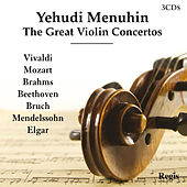 The Great Violin Concertos by Yehudi Menuhin