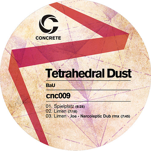 Tetrahedral Dust by Bau