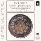 Tchaikovsky: Piano Concerto No.  1 - Schumann: Piano Sonata No. 1 by Emil Gilels