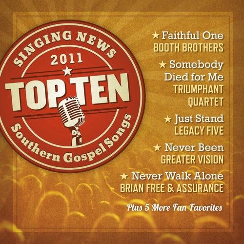 Singing News Top Ten Southern Gospel Songs of 2011 by Various Artists