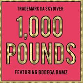 1,000 Pounds (feat. Bodega Bamz) - Single by Trademark The Skydiver