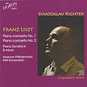 Franz Liszt: Piano Concerto No. 1, S. 124 & No. 2, S. 125 & Piano Sonata in B Minor, S. 178 by Sviatoslav Richter