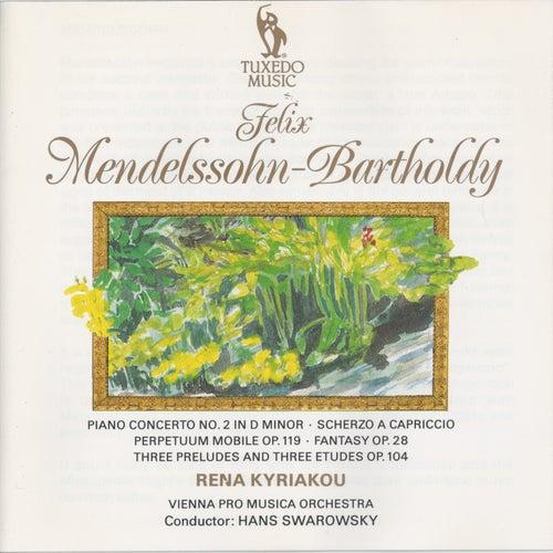Mendelssohn: Piano Concerto No. 2 in D Minor, Op. 40 - Scherzo a capriccio in F Sharp-Minor - Perpetuum mobile, Op. 119 - Fantasy in F Sharp-Minor, Op. 28 by Vienna Pro Musica Orchestra