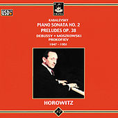 Kabalevsky: Piano Sonata No. 2 - Preludes Op. 38 by Vladimir Horowitz