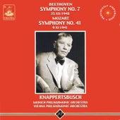 Beethoven: Symphony No. 7 - Mozart: Symphony No. 41 by Hans Knappertsbusch