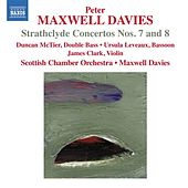 Davies: Strathclyde Concertos Nos. 7 & 8 by Various Artists