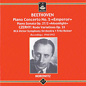 Vladimir Horowitz Plays Beethoven and Czerny by Vladimir Horowitz