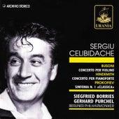 Sergiu Celibidache Conducts Busoni, Hindemith, Prokofiev by Sergiu Celibidache