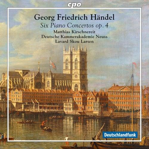 Händel: 6 Piano Concertos, Op. 4 by Matthias Kirschnereit