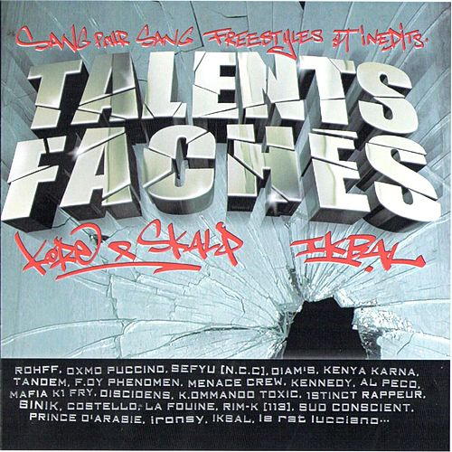 Mixtape Talents Fâchés by Various Artists