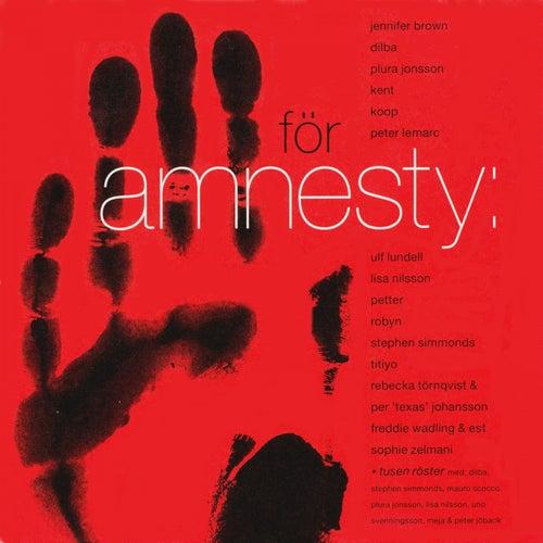 För Amnesty by Various Artists