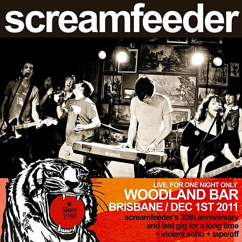 Live At Woodland by Screamfeeder