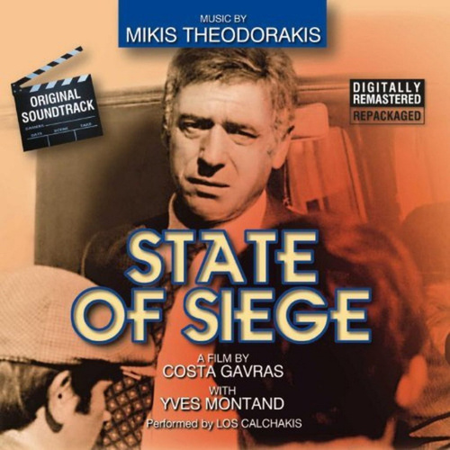State of siege by Mikis Theodorakis (Μίκης Θεοδωράκης)