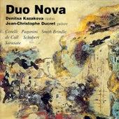 Corelli: Violin Sonata in E Minor, Op. 5, No. 8 – Paganini: Centone di Sonate, Op. 64, No. 1, MS 112 – Brindle: Sketches (5) – von Call: Serenade, Op. 84 – Schubert: 36 Originaltänze, Op. 9, D.365 & Sarasate: Romanza Andaluza, Op. 22 by Jean-Christophe Ducret