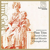 J. Haydn: Flute Trios by Konrad Hünteler and Patrick Cohen Christophe Coin