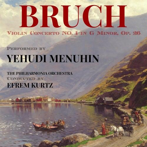 Bruch: Violin Concerto No. 1 in G minor, Op. 26 by Yehudi Menuhin