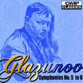 Glazunov Symphonies No. 5 to 8 by Vladimir Fedoseyev