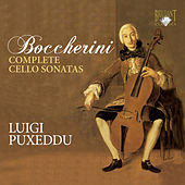 Boccherini: Complete Cello Sonatas by Luigi Puxeddu