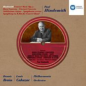 Hindemith conducts Hindemith by Philharmonia Orchestra