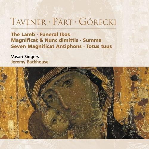 Tavener . Pärt . Górecki by Vasari Singers