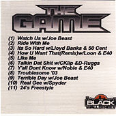 The Game Mix CD Vol. 1 by Various Artists