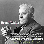 Wolfgang Amadeus Mozart: Symphony No. 40 in G Minor, K. 550 by Bruno Walter