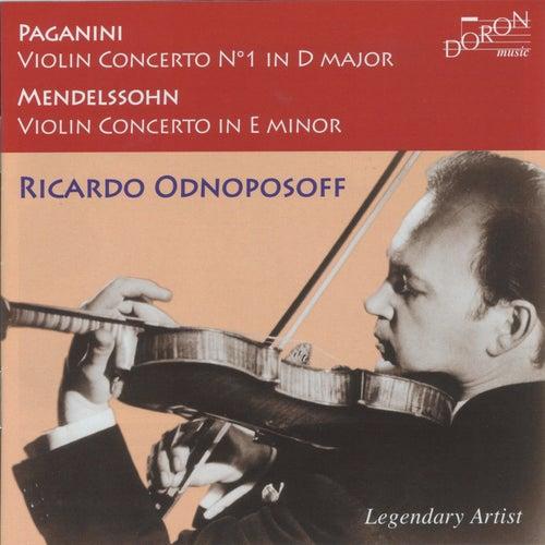 Paganini & Mendelssohn: Violin Concertos by Ricardo Odnoposoff
