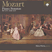 Mozart: Piano Sonatas, K. 311, K. 330 & K. 331 by Klára Würtz