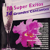 18 Super Exitos y 14 Grandes Cantantes by Various Artists