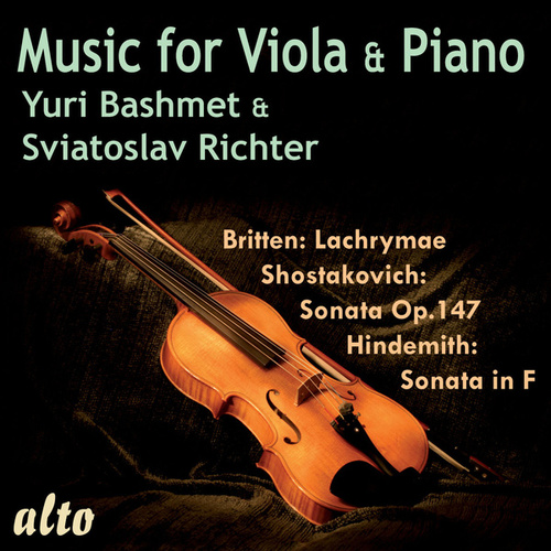 Music for Viola and Piano by Yuri Bashmet