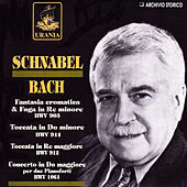 Schnabel Plays Bach by Artur Schnabel