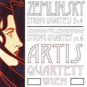 Zemlinsky: String Quartets 3 & 4 / Müller-Hermann: String Quartet by Various Artists