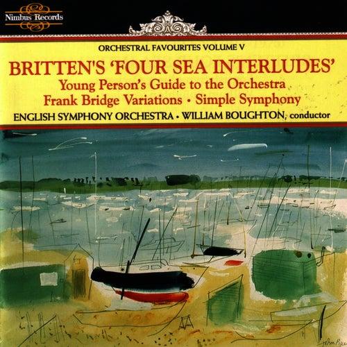 Britten's Four Sea Interludes - Orchestral Favorites Vol. V by Benjamin Britten