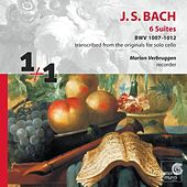 Bach 6 Suites - Marion Verbruggen by Johann Sebastian Bach