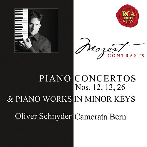 Mozart: Piano Concertos Nos. 12, 13, 26 & Works for Solo Piano by Oliver Schnyder