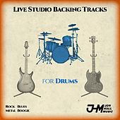 Live Studio Backing Tracks for Drums by Jon Hall