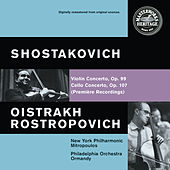 Shostakovich: Violin and Cello Concertos by Various Artists