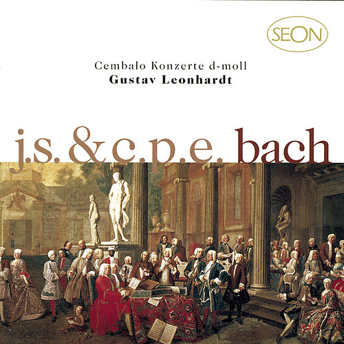 J. S. Bach:  Concerto No. 1 in D minor, BWV 1052 & C.P.E. Bach: Concerto in D minor, Wq. 23 by Gustav Leonhardt