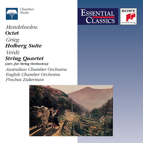 Mendelssohn: Octet; Grieg: Holberg Suite; Verdi: String Quartet by Various Artists
