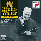 Brahms: Symphonies Nos. 2 & 3 by Bruno Walter