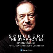 Schubert : Symphonies 1 - 9 [Complete] by Nikolaus Harnoncourt