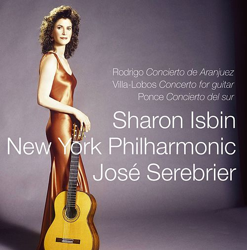 Rodrigo, Villa-Lobos & Ponce : Guitar Concertos by Sharon Isbin