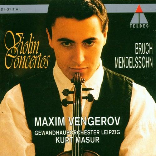 Bruch & Mendelssohn : Violin Concertos by Maxim Vengerov
