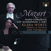 Mozart: Piano Concertos No. 9 & 21 by Klára Würtz